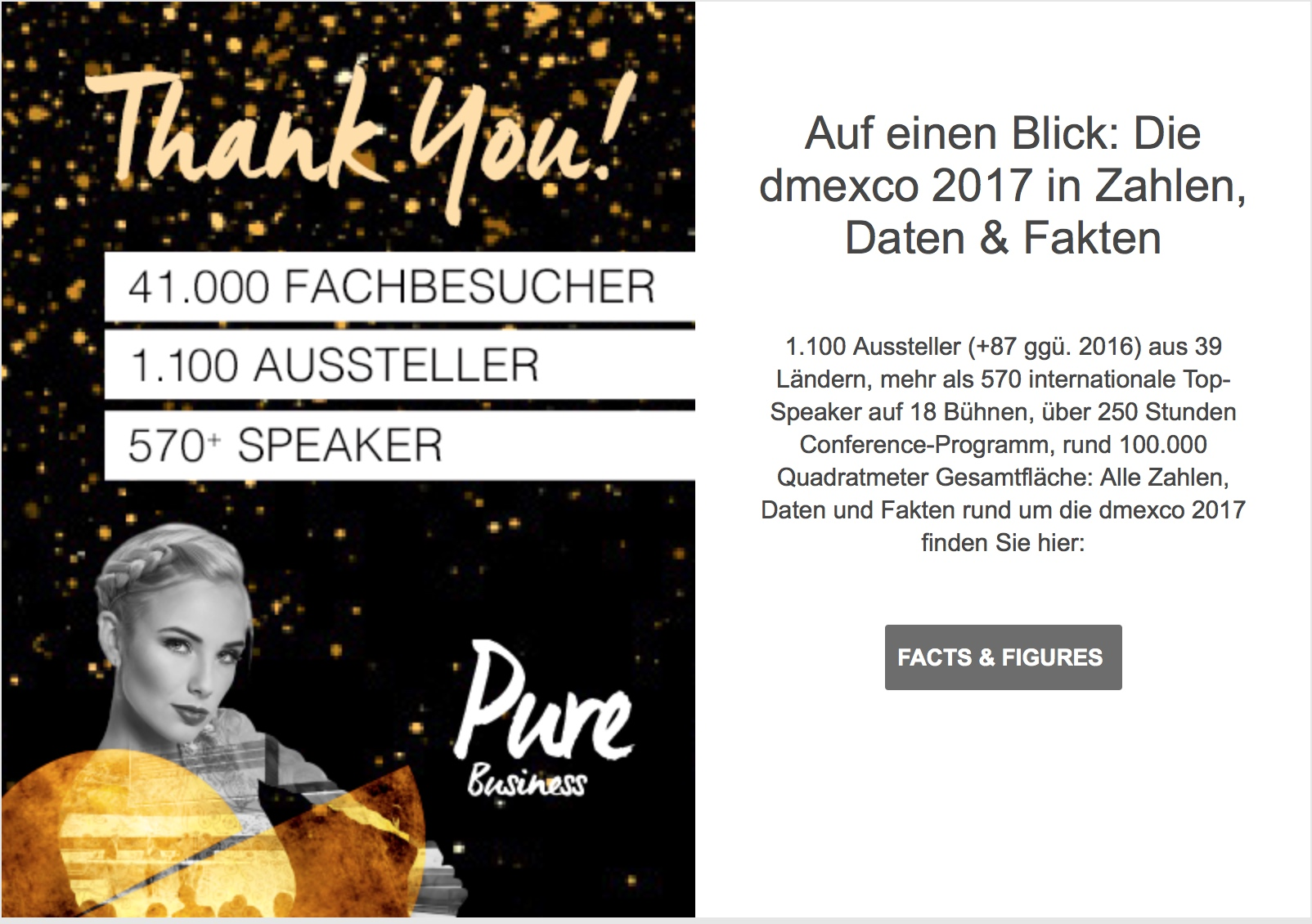 Thank You DMEXCO 2017-Welcome DMEXCO 2018