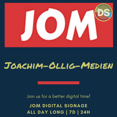 JOM Digital Signage